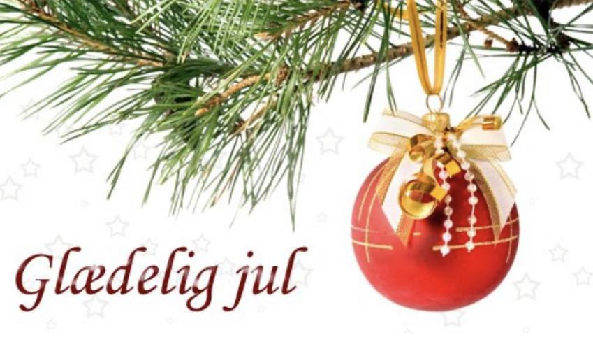 Glædelig jul.